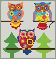 Owl day shcool vector