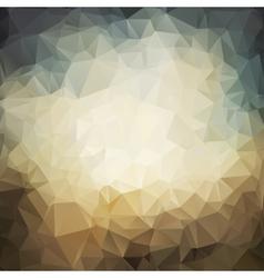 polygonal grunge background vector image
