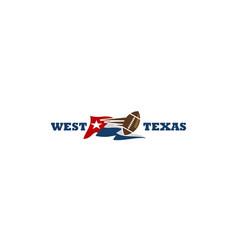 Texas football vector