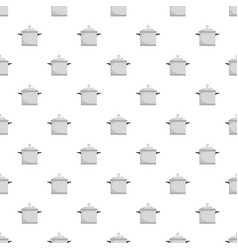 Time cooker pattern seamless vector