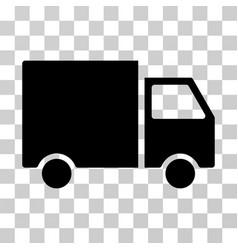shipment van icon vector image vector image