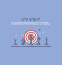 business and marketing strategy vector image