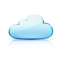 Cloud icon vector