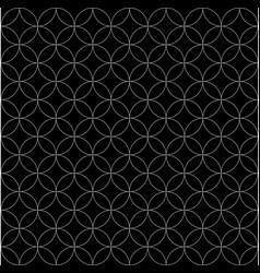 pattern circle image vector image