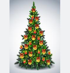 pinetree vector image