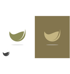 seed logo vector image