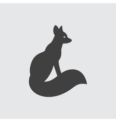 Fox icon vector image