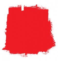 grunge blood background vector image