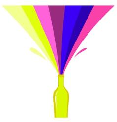 fresh retro drink vector image vector image