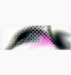 Abstract background holographic liquid colors vector