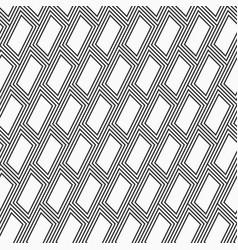 Abstract seamless pattern diagonal santed bricks vector