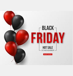black friday sale typographic design 3d stylized vector image