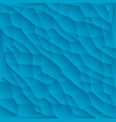 blue polygon abstract triangulated background vector image