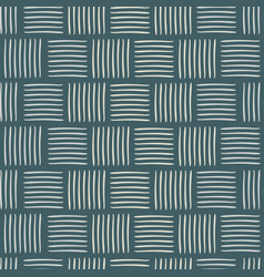 contemporary square weave vector image