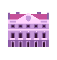 House army in novi sad flat icon vector