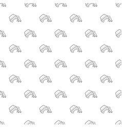People overturned car pattern seamless vector