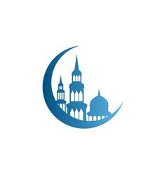 Ramadhan kareem theme graphic design template vector