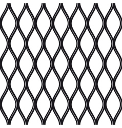 Texture black and white expanded metal sheet mesh vector