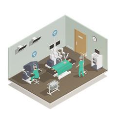 medicine future technology composition vector image