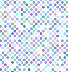 Colorful abstract polka dot pattern design vector image