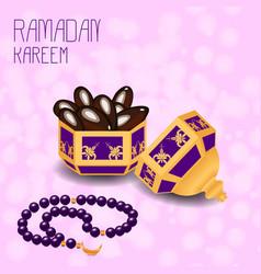 Ramadan kareem concept of a islamic holiday vector