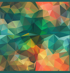 seamless triangle shape mosaic pattern stock image vector image