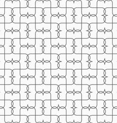 Slim gray pointy grid vector