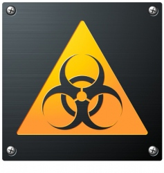 biohazard vector image vector image