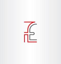 pounds english money icon vector image