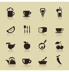 Food9 vector image
