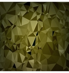 Abstract Digital Polygonal Brown Background vector