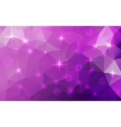 Abstract polygonal cosmic background vector
