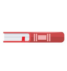 Book icon flat design style trendy vector