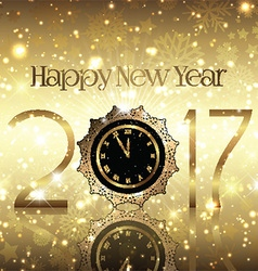 golden new year background 0410 vector image