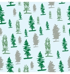 Graphic tree pattern vector