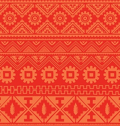 pink native american ethnic pattern vector image