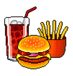 Pixel Art Food Vector Images Over 390