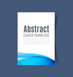 report cover design7 vector image