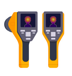 thermal imaging device vector image