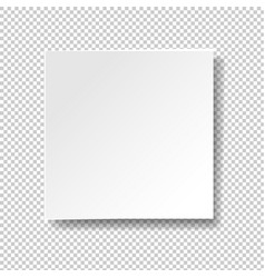white banner isolated transparent background vector image