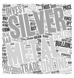 Why Silver May Be A Golden Investment For 2007 vector