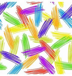 Abstract grunge texture seamless pattern colorful vector image