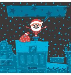 Christmas Card 6 vector image vector image
