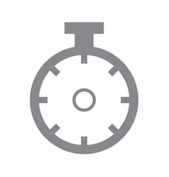 sportwatch time timer chronometer display vector image