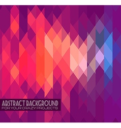 Abstract club flyer template Abstract background vector image vector image
