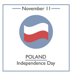 Poland Independence Day vector image vector image