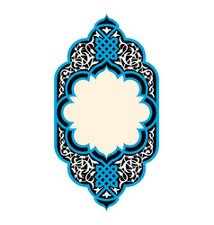Beautiful floral frame vector