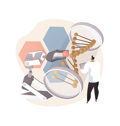 bioethics abstract concept vector image