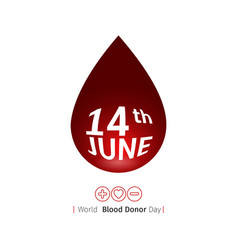blood donation vector image