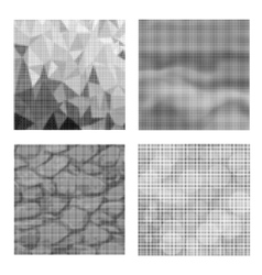 Dots on white background halftone texture vector